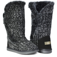 Winter Boots - Snow Black  ** FINAL SALE **