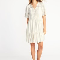 Tiered Pintuck Dress for Women | Old Navy