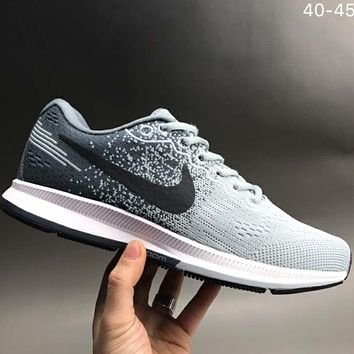 NIKE AIR ZOOM Casual sports Knitting mesh shoes L-CSXY