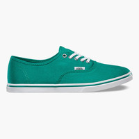 Vans Authentic Lo Pro Womens Shoes Teal Blue  In Sizes