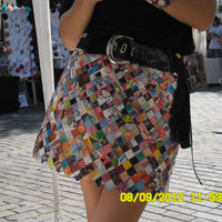 Magazine wrapper skirt