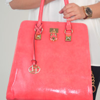 This Is Everything Purse: Raspberry