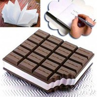 INFMETRY:: Chocolate Notepad - Home&Decor