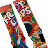 Fruit Loops Customized Nike Elites Socks! Fast Shipping!!