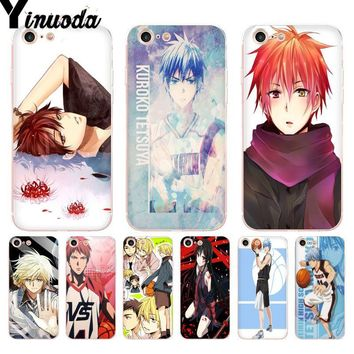 Yinuoda For iphone 7 6 X Case 551F Kuroko no Basket kawaii Tetsuya kawaii anime Phone Case for iPhone 8 7 6S Plus 5S SE XR XSMAX