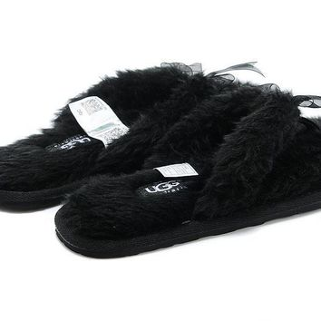 UGG Soft Nap Fur Women Slipper Shoes-9