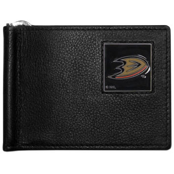 NHL Team Leather Bill Clip Wallet