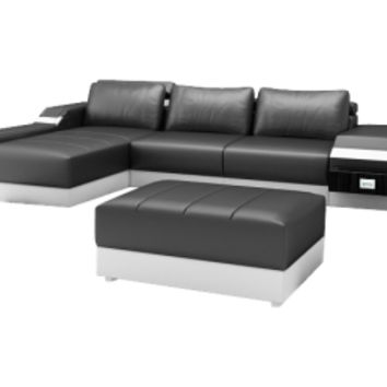 Small Limo Sectional by Scene Furniture | Opulentitems.com - Opulentitems.com
