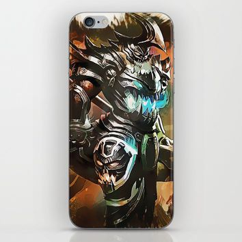 League of Legends HECARIM iPhone Skin by naumovski