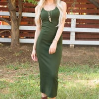 Paloma Dress - Olive