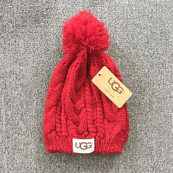 UGG: fashion men's and women's knitted cap (8 colors)