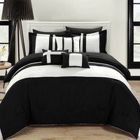 Fiesta 10-pc. Bed Set (Black)