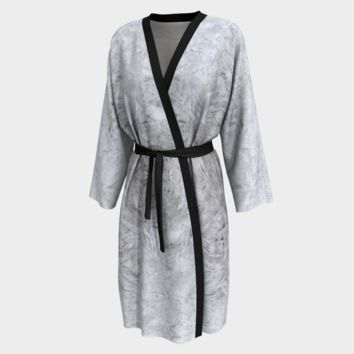 Peignoir Robe Ice Print