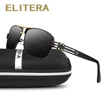 ELITERA 2018 Polarized Sunglasses Men/Women Brand Designer Outdoor Sport Sun Glasses UV400 Driving Fishing Golf Gafas De Sol