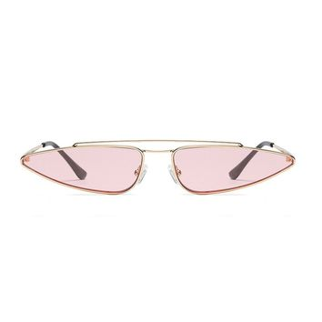 Slim Shady Retro Sunglasses | Pink