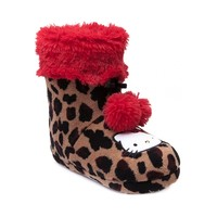 Hello Kitty® Leopard Bootie