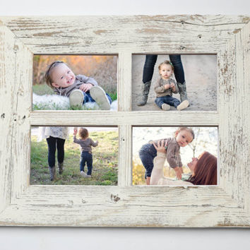 5x7 Barn Window Collage Picture Frame-Christmas Gift-Rustic Picture Frame-Reclaimed-Cottage Chic-Collage Frame-Picture Frames