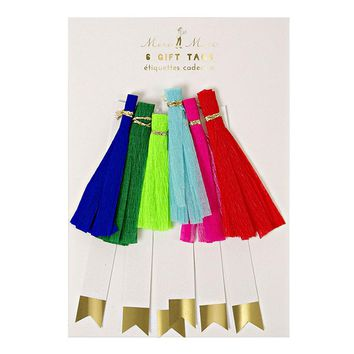 Colored Tassel Gift Tags