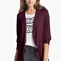 Painted Threads 'Ashley' Open Front Dolman Cardigan (Juniors) | Nordstrom