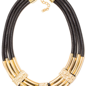 Indy Rope Necklace - Black