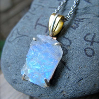 Angel Light Moonstone Necklace