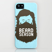 Beard Season iPhone & iPod Case by Chase Kunz