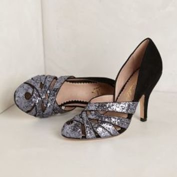 High Halls Pumps by Miss Albright Black 9 Heels