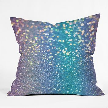 Lisa Argyropoulos Pastel Galaxy Throw Pillow
