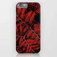 Flaming Bracken iPhone & iPod Case by Moonshine Paradise