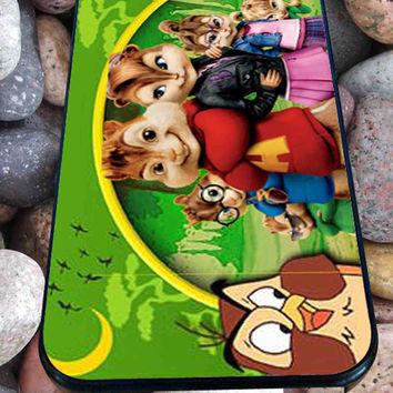 alvin and the chipmunks and the chipettes for iPhone 4/4s/5/5S/5C/6, Samsung S3/S4/S5 Unique Case *95*