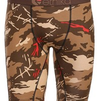 Ethika Men's The Staple Long Boxer Brief Underwear Blender Camo size S M L XL