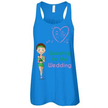 Sweating for the Wedding tank-top