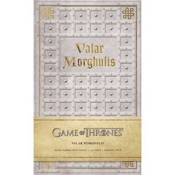 Game of Thrones: Valar Morghulis Hardcover Ruled Journ, Drama TV by Simon &