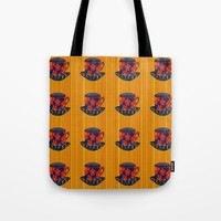 Tea Party Tote Bag by Kathleen Sartoris