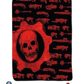 Official Gears of War Warm Decorative Fleece Throw Wall Hanging Tapestry Blanket
