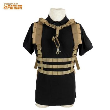 Tactical Molle Vest Ammo Chest Rig Removable Gun Sling Hunting Airsoft Paintball Gear