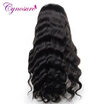 Cynosure Brazilian Body Wave Hair Weave Bundles 100% Human Hair Bundles 8-28 Inch Natural Color 1 Piece Non-remy Hair