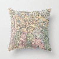 Oh Canada Throw Pillow by Catherine Holcombe | Society6