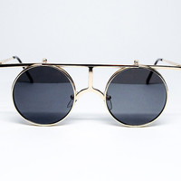 YHF Dom Gold Sunglasses