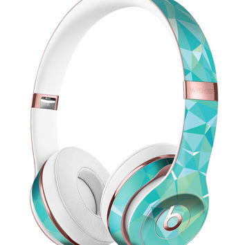 Teal Geometric V13 Full-Body Skin Kit for the Beats by Dre Solo 3 Wireless Headphones