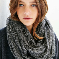Drop Needle Shred Eternity Scarf - Urban Outfitters