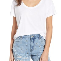 BP. Relaxed Cotton Blend Tee | Nordstrom