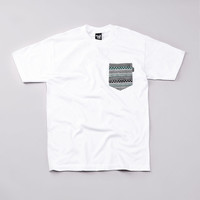 Flatspot - The Quiet Life Our Tribe Pocket T Shirt White
