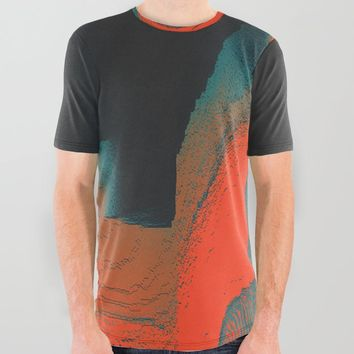 Idiosyncrasy All Over Graphic Tee by duckyb