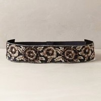 Brocade Embroidered Belt by Anthropologie Black Motif