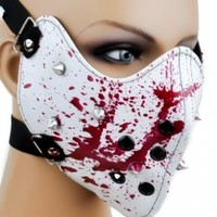 Bloody Spike Motorcycle Face Mask Gothic Horror