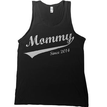 Mommy Since 2014 Mens Tank Top - mothers day newborn t shirt mother tshirt mom gift tee t-shirt