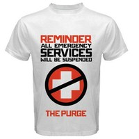 The purge extra large design Size S, M, L, XL, 2XL, 3XL, 4XL, and 5XL