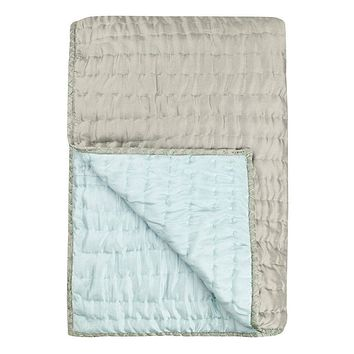 Designers Guild Chenevard Pebble & Duck Egg Quilt & Shams