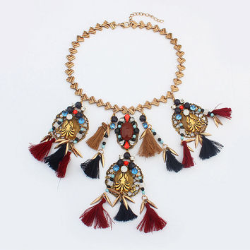 Shiny Stylish New Arrival Jewelry Gift Strong Character Punk Necklace [4918850116]